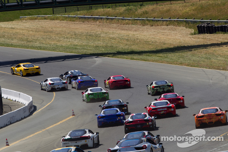 Ferrari Challenge Race #1 Start