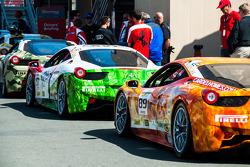 Ferrari Challenge Pre-race line Up