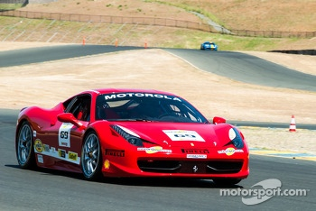 #69 Ferrari of Houston 458CS: Michael Macs