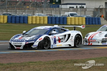 #8 Sbastien Loeb Racing Mc Laren MP4/12C: Laurent Pasquali, Anthony Beltoise