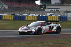 #7 Hexis Racing Mc Laren MP4/12C: Jean-Claude Police, Laurent Cazenave