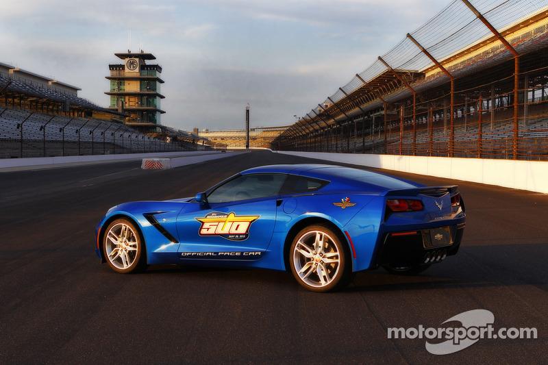The 2013 Indy 500 Chevrolet Corvette pace car
