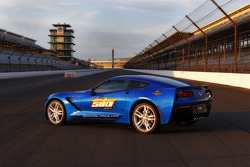 Indy 500 Corvette pace car unveiling