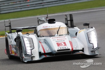 #3 Audi Sport Team Joest Audi R18 e-tron quattro: Marc Gene, Lucas di Grassi, Oliver Jarvis