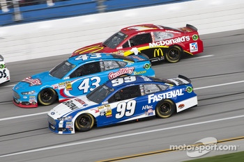 Carl Edwards, Aric Almirola and Jamie McMurray