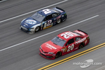 Brad Keselowski and Matt Kenseth