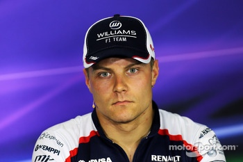 Valtteri Bottas, Williams in the FIA Press Conference