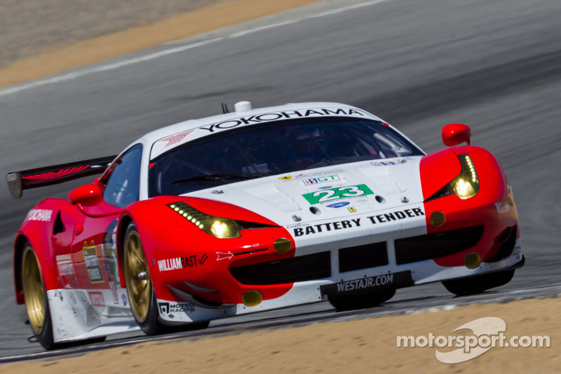 #23 Team West/AJR/Boardwalk Ferrari Ferrari F458 Italia: Bill Sweedler, Townsend Bell