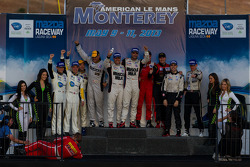 Class winners: P1 Lucas Luhr and Klaus Graf; P2 Marino Franchitti and Scott Tucker; PC Luis Diaz and Mike Guasch; GT Antonio Garcia and Jan Magnussen; GTC Henrique Cisneros and Nick Tandy