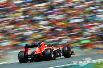 Jules Bianchi, Marussia F1 Team MR02