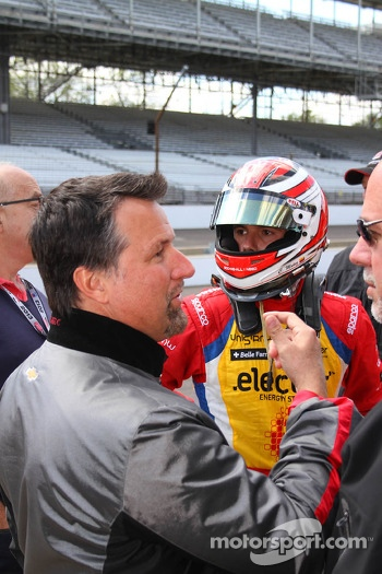 Michael Andretti and Carlos Munoz, Andretti Autosport Chevrolet