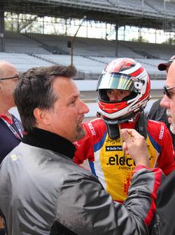 Michael Andretti and Carlos Munoz, Andretti Autosport Chevrolet