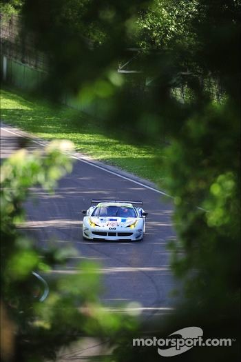 #53 Ram Racing Ferrari 458 Italia: Gunnar Jeannette, Frank Montecalvo