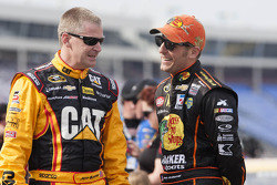 Jamie McMurray and Jeff Burton
