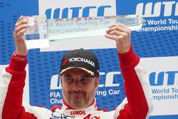3rd position Yvan Muller, Chevrolet Cruze 1.6T, RML