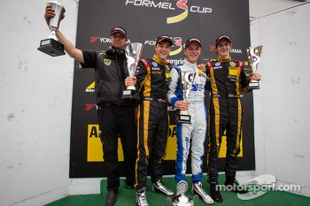German F3 podium