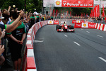 Felipe Massa, Scuderia Ferrari, drives the streets of Warsaw during the Shell V-Power Nitro+