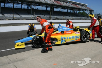 Trouble for Ana Beatriz, Dale Coyne Racing Honda