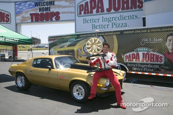 Papa John from Papa John's Pizza