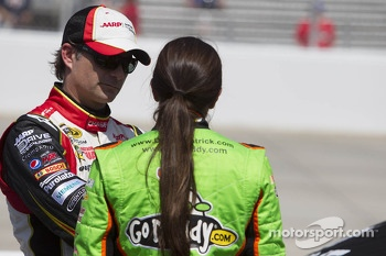 Jeff Gordon and Danica Patrick