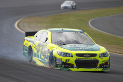 Paul Menard, Richard Childress Racing Chevrolet crashes