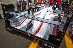 #3 Audi Sport Team Joest Audi R18 e-tron quattro rear wing