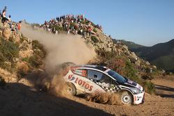 Michal Kosciuszko and Maciek Szczepaniak, Ford Fiesta WRC