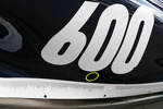 Williams FW35 sidepod celebrates 600 Grands Prix for the team