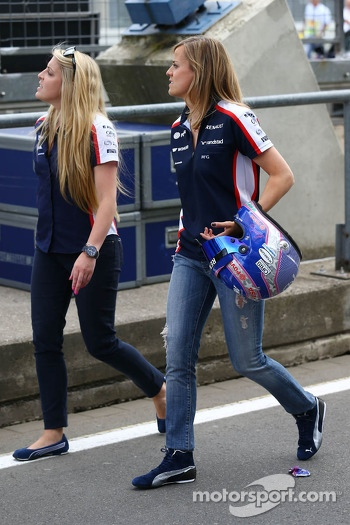 Susie Wolff, Williams Development Driver (Right)