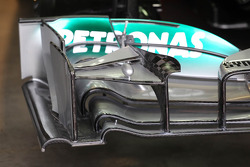 Mercedes AMG F1 W04 front wing detail