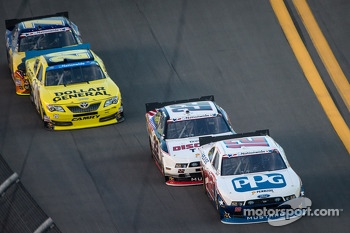 Sam Hornish Jr., Joey Logano, Brian Vickers, Regan Smith