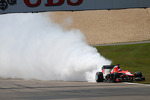 Jules Bianchi, Marussia F1 Team MR02 has an engine failgue during the race