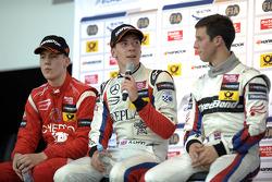 Winner Alex Lynn, 2nd Raffaele Marciello, 3rd Alexander Sims