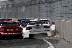 Crash of Martin Tomczyk, BMW Team RMG BMW M3 DTM