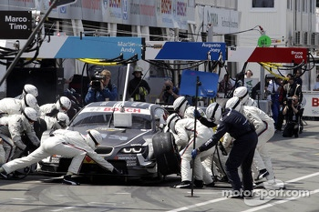 Pitstop Joey Hand, BMW Team RBM BMW M3 DTM