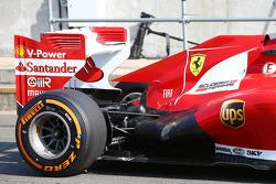 Davide Rigon, Ferrari F2012 Test Driver rear exhaust detail