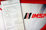 The new IMSA logo and the original IMSA registration paper