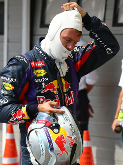 2nd place for Sebastian Vettel, Red Bull Racing RB9