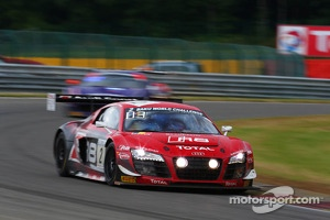 #2 Belgian Audi Club Team WRT: Frank Stippler, Christopher Mies, Andre Lotterer