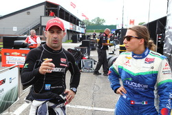 Tony Kanaan and Simona de Silvestro