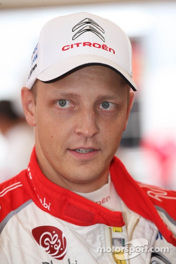 Mikko Hirvonen, Citroën Total Abu Dhabi World Rally Team