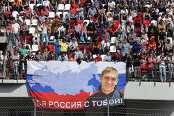 Fans of Vitaly Petrov