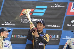 National podium: winner Sun Zheng