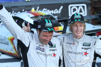 Winners #8 Starworks Motorsport BMW/Riley: Scott Mayer, Brendon Hartley