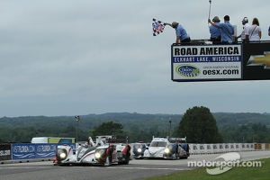 #6 Muscle Milk Pickett Racing HPD ARX-03a Honda: Lucas Luhr, Klaus Graf take the win
