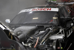 Fire Extinguisher starts in car of Timo Scheider, Audi Sport Team ABT Sportsline Audi A5 DTM