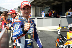 Third place Jorge Lorenzo, Yamaha Factory Racing