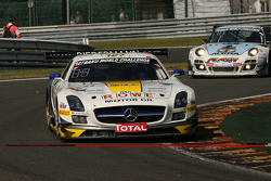#127 Rowe Racing Mercedes SLS AMG GT3: Klaus Graf, Jan Seyffarth, Lance David Arnold