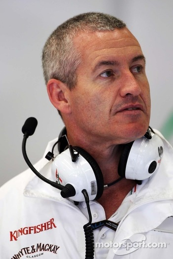 Gerry Convy, Personal Trainer of Paul di Resta, Sahara Force India F1