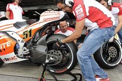 Pramac MotoGP pits